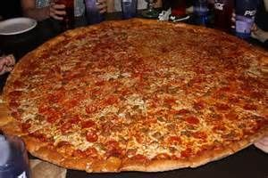 The mighty king of all Pizzas.