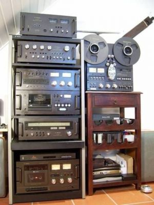 A collection of analog legends.