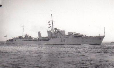 Destroyer Zulu,1938.