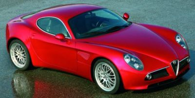 Alfa Romeo 8c Competizione, 2006.
