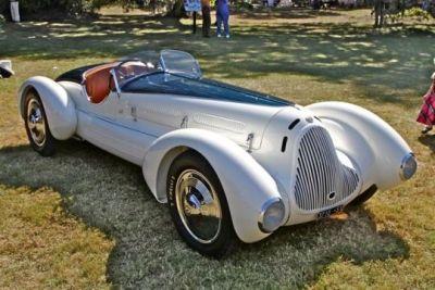 Alfa Romeo Gran Sport Spider Corsica, 1931.