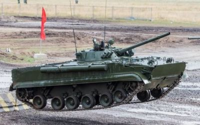 A relatively new air-deployable IFV from Russia. It's designation escapes me at the moment.