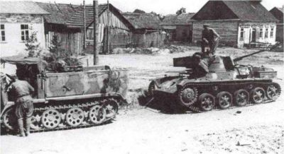 Soviet Infantry were surprised to find the Hungarian Toldi I tank on August 18th, 1944. The Toldi was a Hungarian effort to build a competent fighting machine based on the Swedish STRV M/38 tank chassis, which was hopelessly obsolete by 1942, let alone towards the end of the war.