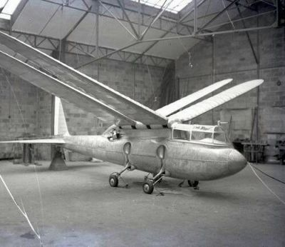 The Dragonfly, an interesting interwar aircraft design that quite literally didn't get off the ground.
