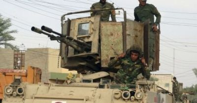 An Iraqi army M113 with a homemade turret for dealing with ISIS terrorists. According to the source, the Iraqi army has several similar vehicles in official service, with more on the way. This particular unit was photographed sometime in 2017.