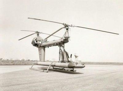 Experimental Sikorsky helicopter test-bed.