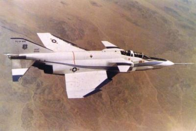 YF-4E Prototype, what would later become the Phantom II fighter jet, one of America's most formidable.
