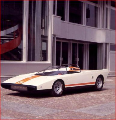 Alfa Romeo P33 Cuneo concept car from 1971