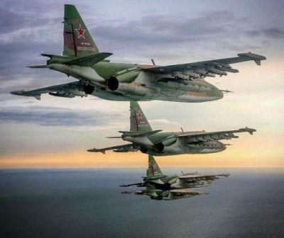 SU-25 Formation Flight