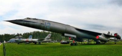 The Soviet M50 bomber prototype, a USSR attempt to build a faster bomber than the USA during the cold war.