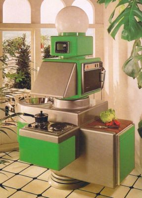 "A ""Kitchen of the future"" as conceived in 1963"