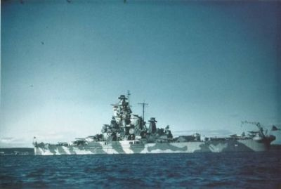 The American battleship USS Alabama in 1942.