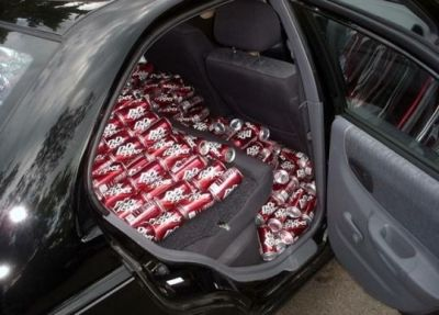 Someone has all the Dr. Pepper.
