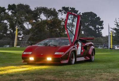 The 1980 Lamborghini Countach Turbo Prototype.