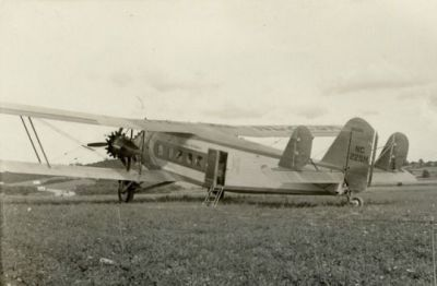 A Boeing 80A1 airliner, sometime in the 1920's.
