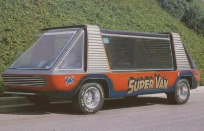 The Super Van from the 1977 film Super Van.