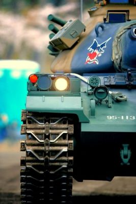 Details on a Type 74 Tank.