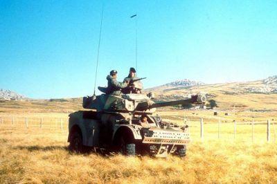 A Panhard AML90 Armored Car.