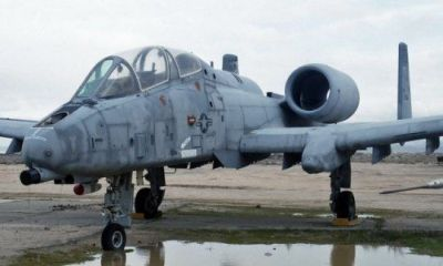 The YA-10B Warthog twin-seater prototype, quite a cool looking plane!