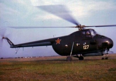 An MI-4 Helicopter in service with the Romanian Army, sometime in the 1970's.