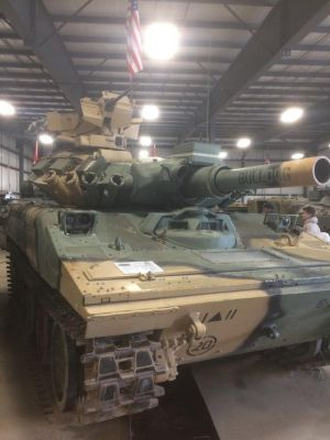 A Sherridan on display in Canada, and what a tank it is!