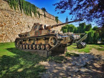 A Panzer 4 in Belgrade, Serbia.