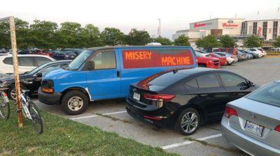 Jinkies, it's the Misery Machine!