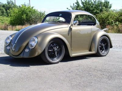 Have a look at this really cool Volkswagen Beetle.