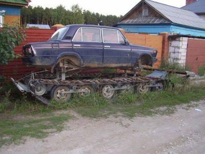 A Siberian Trabant.