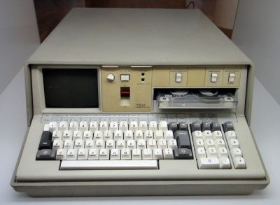 An IBM 5100 Portable Terminal- a cool machine that looks right out of Blade Runner.
