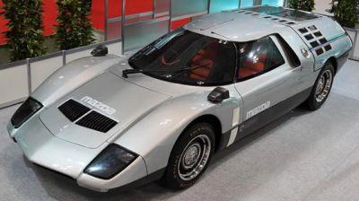 The impressive 1970 Mazda RX-500.