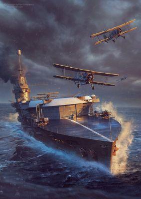 HMS Glorious - Piotr Forkasiewicz