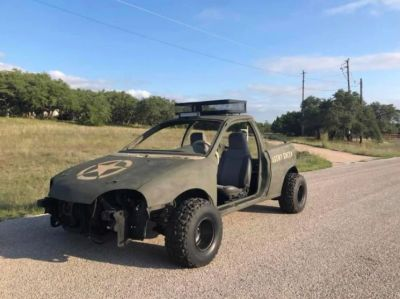 An off road Geo Metro. I'm just as surprised as you are.