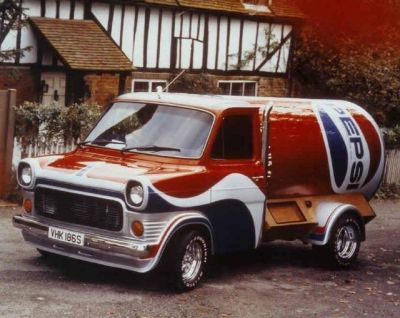 The famous Pepsi Van during it's heyday.