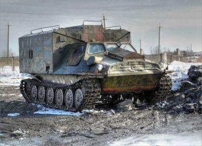 A Soviet GT-T command unit.