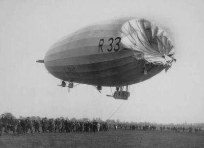 The result of the R-33 crash of 1925.