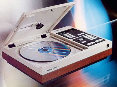 Behold, the MCA DiscoVision, the first generation of Laserdisc. Do you believe?