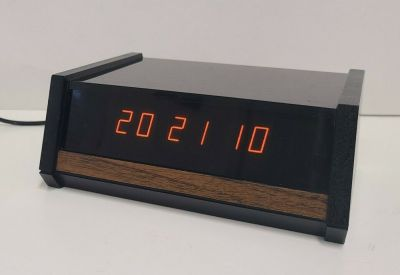 "A Heathkit ""computerized"" digital clock from 1974."